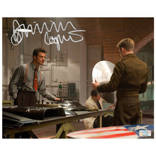 Load image into Gallery viewer, Dominic Cooper Autographed Captain America 8×10 Scene Photo