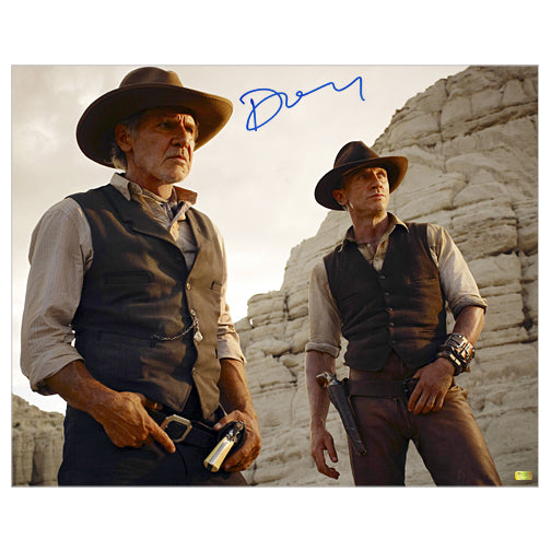 Daniel Craig Autographed Cowboys & Aliens 16x20 Photo