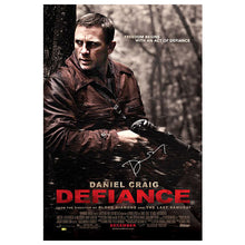 Load image into Gallery viewer, Daniel Craig Autographed 2008 Defiance Original 27×40 Double-Sided Movie Poster