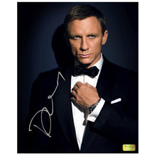 Load image into Gallery viewer, Daniel Craig Autographed Quantum of Solace 007 8x10 Photo