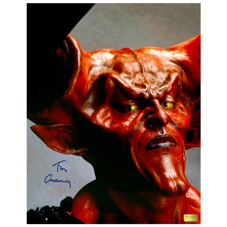 Tim Curry Autographed Legend Darkness 11x14 Photo