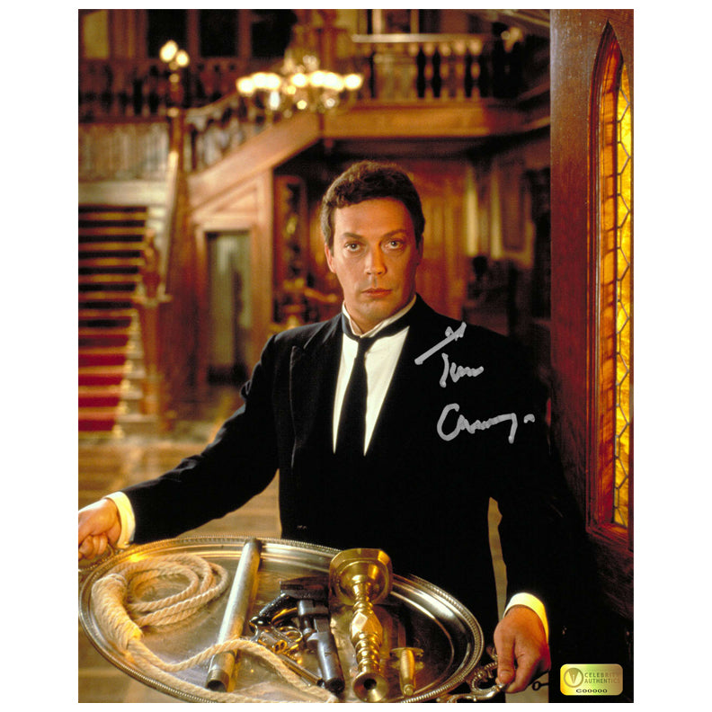 Tim Curry Autographed Clue Wadsworth 8x10 Photo