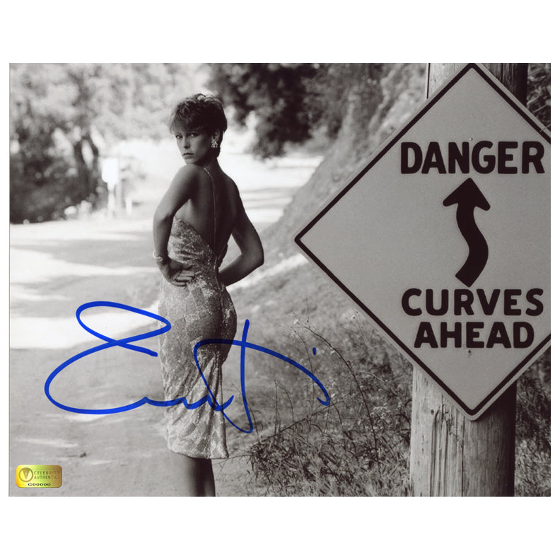 Jamie Lee Curtis Autographed Dangerous Curves 8x10 Photo