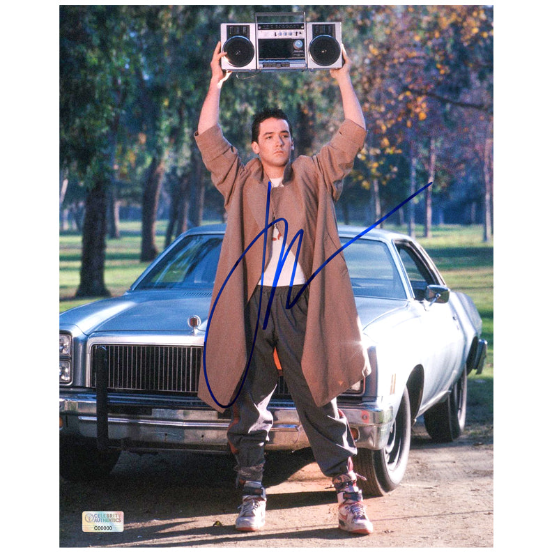 John Cusack Autographed Say Anything Lloyd Dobler 8x10 Photo