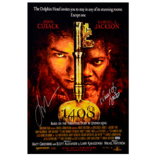 Load image into Gallery viewer, Samuel L. Jackson, John Cusack Autographed 2007 '1408' 16×24 Movie Poster