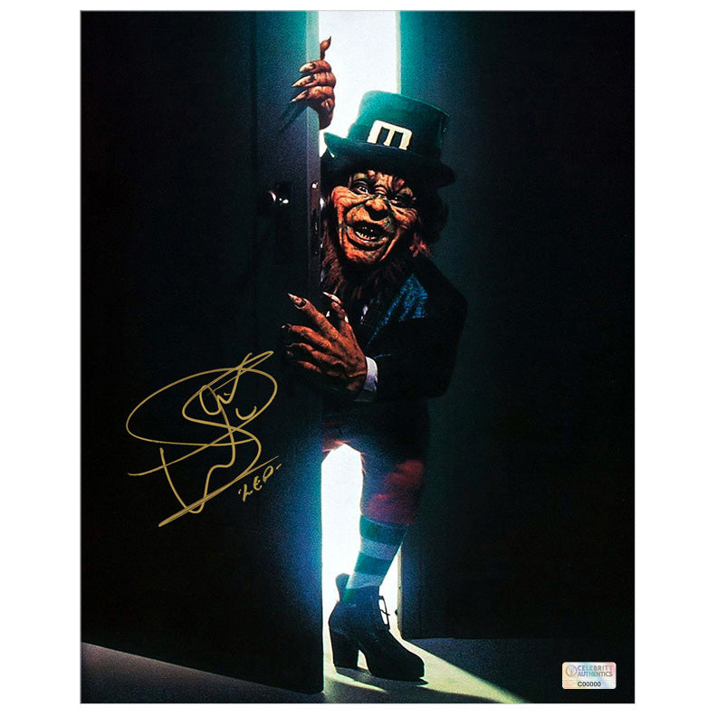 Warwick Davis Autographed 1993 Leprechaun 8x10 Photo