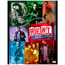 Load image into Gallery viewer, Rosario Dawson Autographed Rent 11×14 Collage Photo