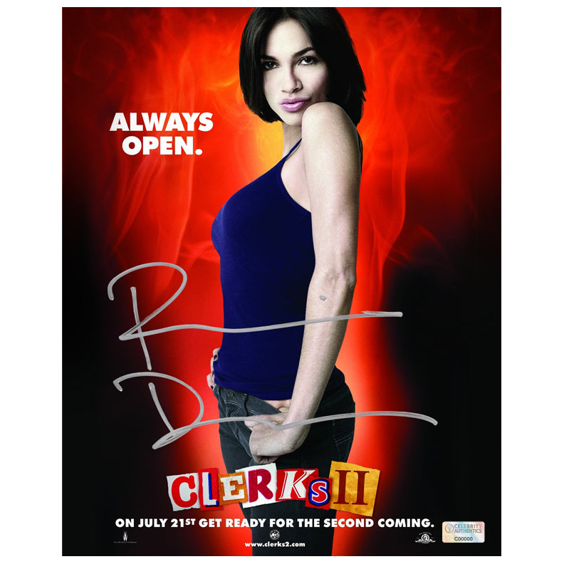 Rosario Dawson Autographed Clerks II 8x10 Photo