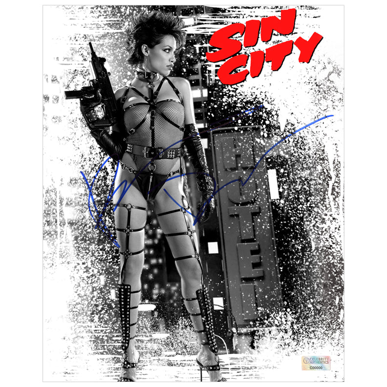 Rosario Dawson Autographed Sin City Gail 8x10 Photo