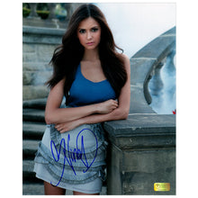 Load image into Gallery viewer, Nina Dobrev Autographed The Vampire Diaries Elena Gilbert 8x10 Photo