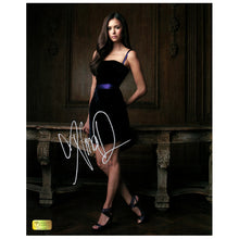 Load image into Gallery viewer, Nina Dobrev Autographed The Vampire Diaries 8x10 Photo