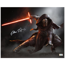 Load image into Gallery viewer, Adam Driver Autographed Star Wars The Force Awakens Kylo Ren Jedi Killer 16x20 Photo