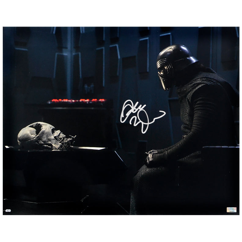 Adam Driver Autographed Star Wars: The Force Awakens Kylo Ren Destiny's Path 16×20 Photo