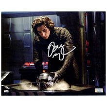 Load image into Gallery viewer, Adam Driver Autographed Star Wars The Force Awakens Kylo Ren Interrogation 8×10 Scene Photo