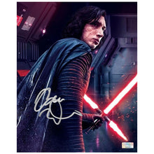 Load image into Gallery viewer, Adam Driver Autographed Star Wars The Last Jedi Kylo Ren 8×10 Photo