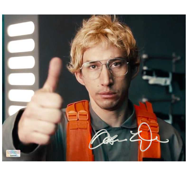 Adam Driver Autographed Matt The Radar Technician 8×10 Photo