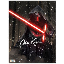 Load image into Gallery viewer, Adam Driver Autographed Star Wars: The Force Awakens Kylo Ren Starkiller Base 8x10 Photo