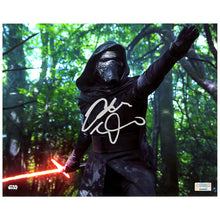Load image into Gallery viewer, Adam Driver Autographed Star Wars The Force Awakens Takodana 8×10 Scene Photo