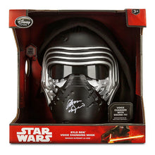 Load image into Gallery viewer, Adam Driver Autographed Kylo Ren Voice Changing Mask with Hood