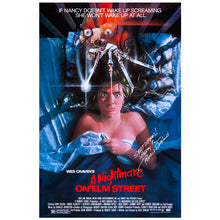 Load image into Gallery viewer, Robert Englund Autographed A Nightmare on Elm Street 27×40 Single-Sided Movie Poster