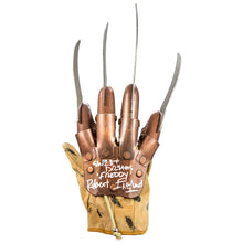 Load image into Gallery viewer, Robert Englund Autographed A Nightmare on Elm Street Freddy Krueger Glove with 'Sweet Dreams' Inscription