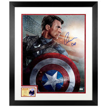 Load image into Gallery viewer, Chris Evans Autographed Captain America The First Avenger 16x20 Photo