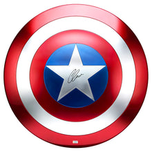 Load image into Gallery viewer, Chris Evans Autographed Marvel Legends Captain America Prop Replica 1:1 Scale Shield