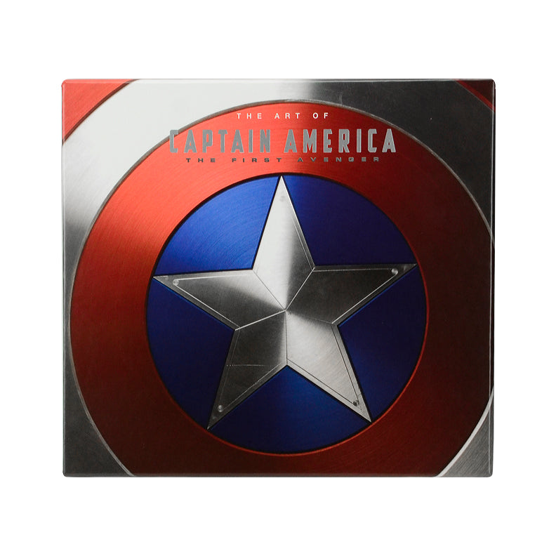 Chris Evans and Stan Lee Autographed The Art of Captain America: The First Avenger