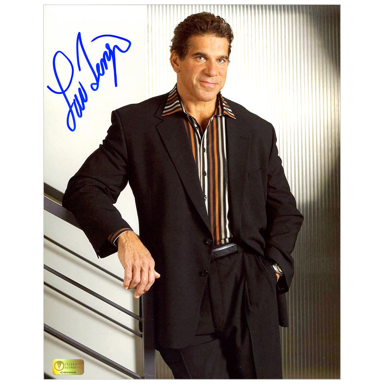Lou Ferrigno Autographed The Apprentice 8x10 Photo