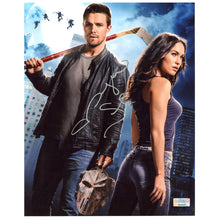 Load image into Gallery viewer, Megan Fox Autographed Teenage Mutant Ninja Turtles April O'Neill and Casey Jones 8x10 Photo