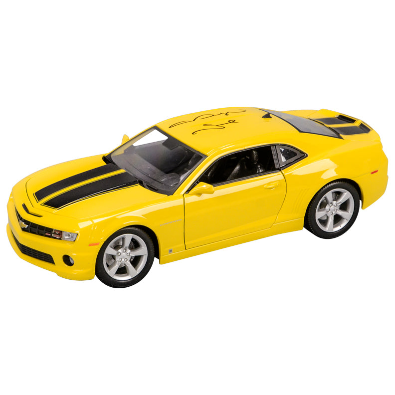 Megan Fox Autographed Transformers Bumblebee 2010 Camaro 1:18 Scale Die-Cast Car
