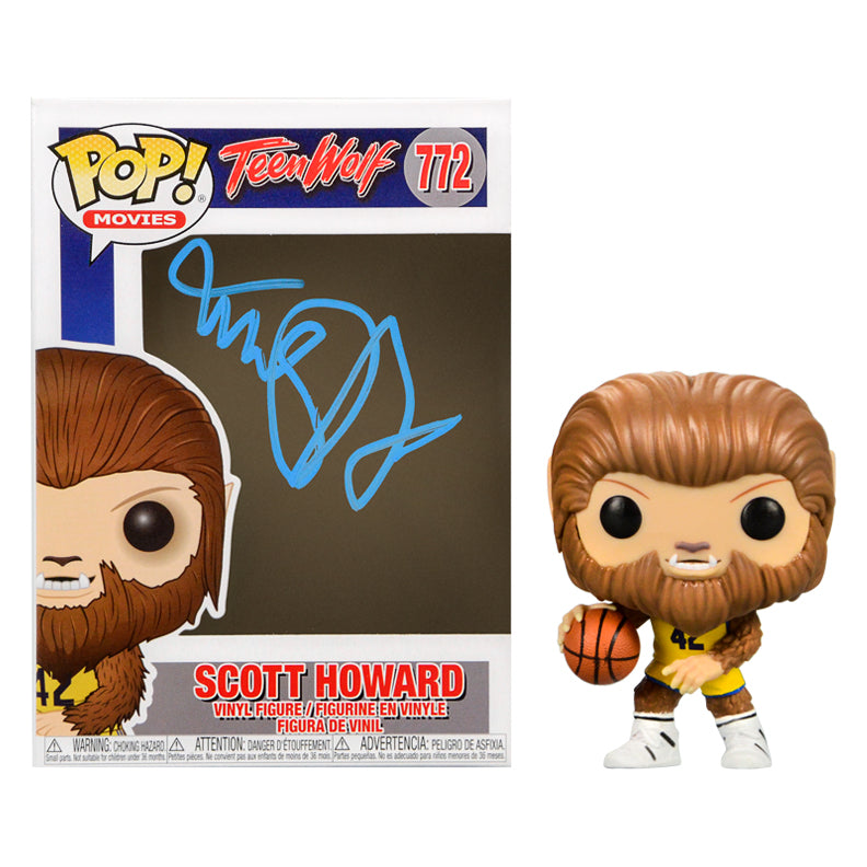 Michael J. Fox Autographed Teen Wolf Scott Howard POP Vinyl #772
