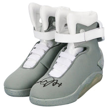 Load image into Gallery viewer, Michael J. Fox Autographed Back to the Future Part II Marty McFly Shoes