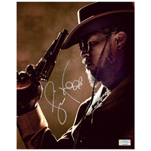 Load image into Gallery viewer, Jamie Foxx Autographed Django Unchained Revolver 8x10 Photo