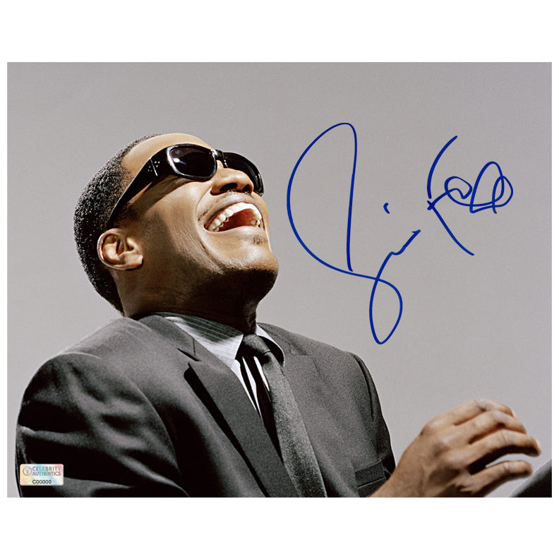 Jamie Foxx Autographed Ray 8x10 Photo