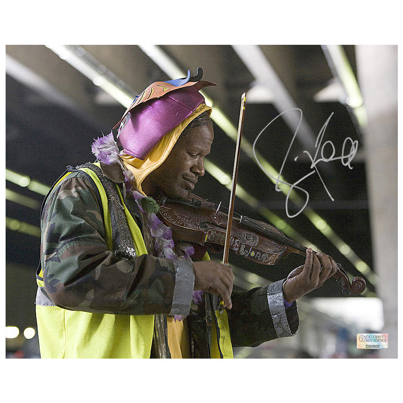 Jamie Foxx Autographed The Soloist 8x10 Scene Photo