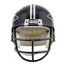 Load image into Gallery viewer, Al Pacino, Jamie Foxx Autographed Any Given Sunday Sharks Mini-Helmet