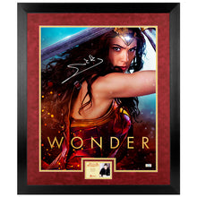 Load image into Gallery viewer, Gal Gadot Autographed Wonder Woman Promo 16x20 Photo