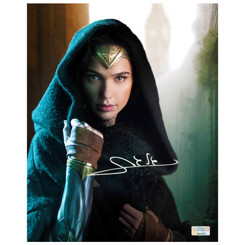 Gal Gadot Autographed Wonder Woman Diana Prince 8x10 Photo