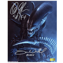Load image into Gallery viewer, Alec Gillis, Tom Woodruff Jr. Autographed AVP: Alien vs Predator 8×10 Studio Photo