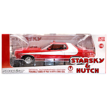 Load image into Gallery viewer, David Soul and Paul Michael Glaser Autographed Starsky and Hutch Torino 1:18 Scale Die-Cast Car