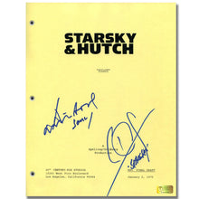 Load image into Gallery viewer, David Soul and Paul Michael Glaser Autographed Starsky and Hutch Pilot Script