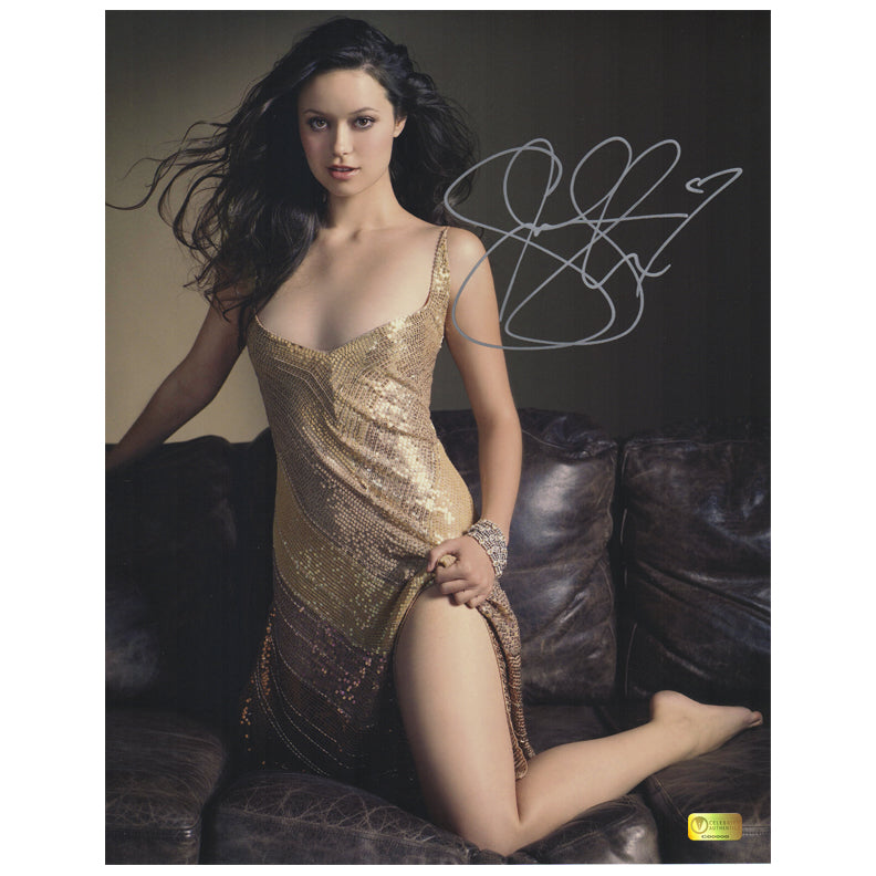 Summer Glau Autographed Glamour 11x14 Photo