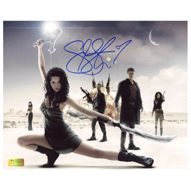 Summer Glau Autographed Serenity 8x10 Photo