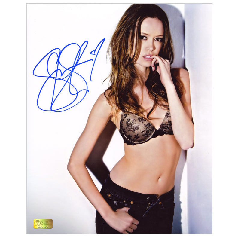 Summer Glau Autographed Temptress 8x10 Photo