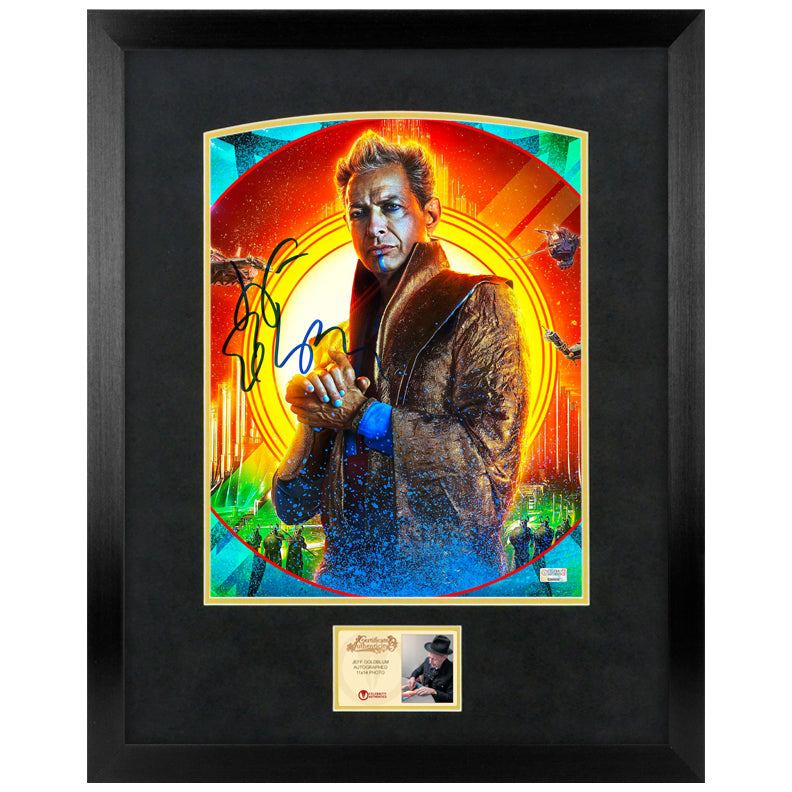 Jeff Goldblum Autographed Thor Ragnarok The Grandmaster 11x14 Photo
