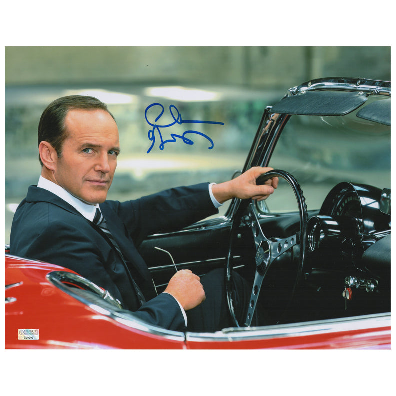 Clark Gregg Autographed Agents of S.H.I.E.L.D. Agent Coulson Lola 11x14 Photo