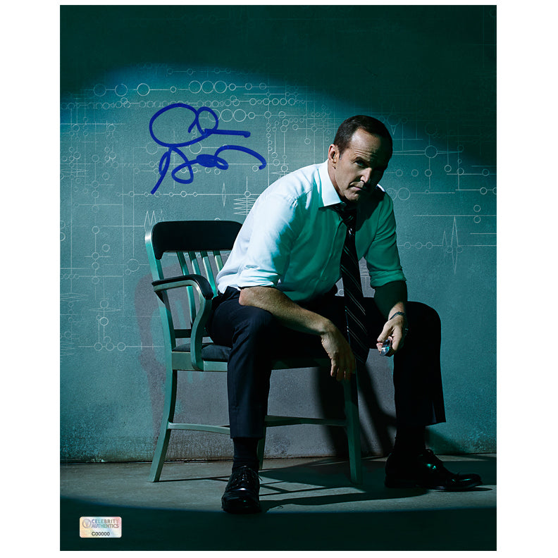 Clark Gregg Autographed Agents of S.H.I.E.L.D. Agent Coulson Code 8x10 Photo