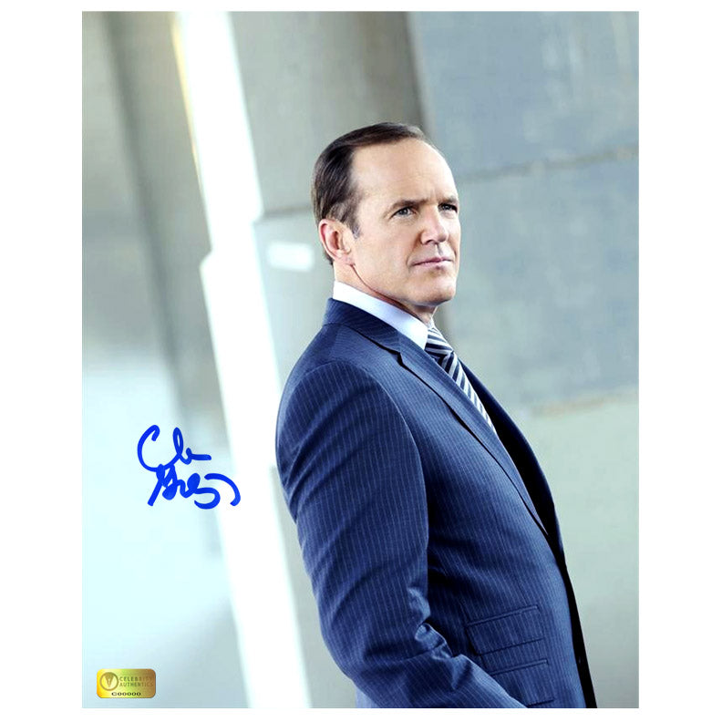 Clark Gregg Autographed Agents of S.H.I.E.L.D. Agent Coulson 8x10 Scene Photo