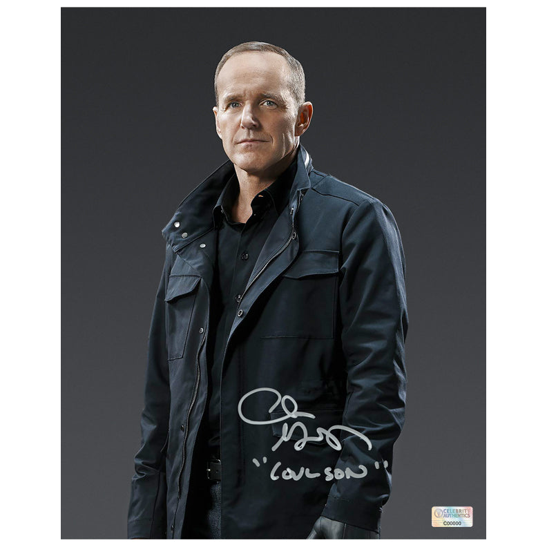 Clark Gregg Autographed Agents of S.H.I.E.L.D. Agent Coulson Season 5 8x10 Photo